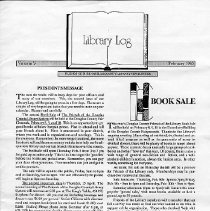 Image of Library Log