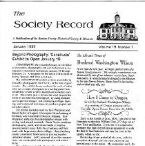 Image of The Society Record