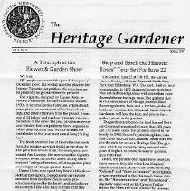 Image of The Heritage Gardener