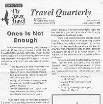 Image of Travel Quarterly