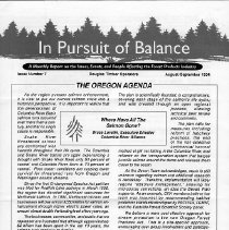 Image of In Pursuit of Balance