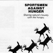 Image of Sportsmen against Hunger