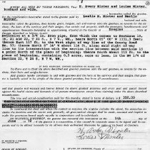 Image of Deed to Douglas County Property