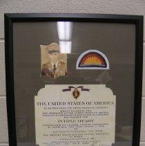 Image of 2013.60.16 - Certificate, Commemorative