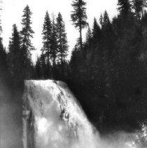 "Image of N5876 - COUNT:2  REMARKS:Lemolo Falls. Name on negative misspelled, ""Lemola"". Douglas County. ca. 1925.  OBJECT DATE:ca. 1925"