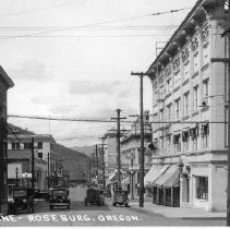 Image of C126 - Postcard view looking West on Cass Street from Main Street.  ca 1930