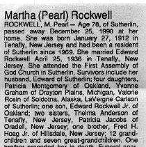 Image of 2015.9.142 - Obituary