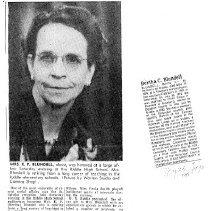 Image of Bertha  C. Blundell obituary