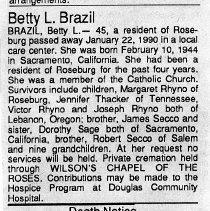 Image of 2015.9.601 - Obituary