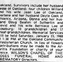Image of Mary Ann Lee page 2 obituary
