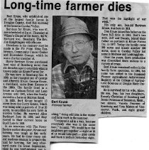 Image of Bert Kruse obituary