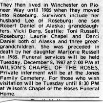 Image of Myra Augusta Daniel page 2 obituary