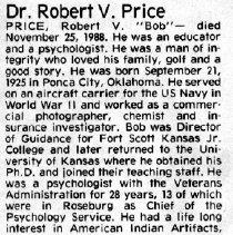Image of 2015.9.851 - Obituary