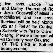 Image of Loyd O. Thomas page 2 obituary