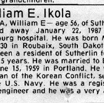 Image of 2015.9.1119 - Obituary