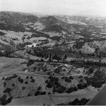 Image of C140 - Aerial view of Umpqua Community College north of Roseburg, OR.  Ca. 1970