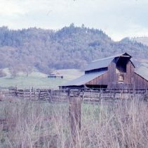Image of S1158 - Hanna Nickel Co. mining operation on Nickle Mountain near Riddle, OR.  1978
