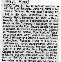 Image of 2015.9.1985 - Obituary