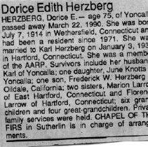 Image of 2015.9.2393 - Obituary