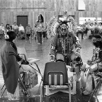 Image of Tribal gathering, Drumming & dancing