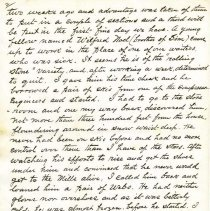 Image of Camp Bird Letter pg2
