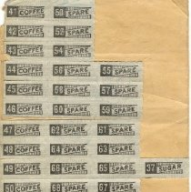 Image of Inside War Ration Book