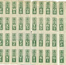 Image of Detached stamp page
