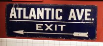 Image of Atlantic Ave./Exit sign