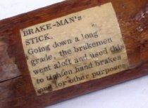 Image of Brakeman's Stick label
