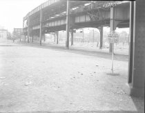 Image of [Unknown Elevated and Trolley Lines]