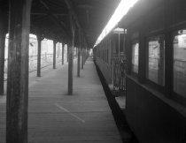 Image of Elevated BU Train , Myrtle Avenue Line