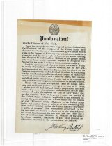 Image of Proclamation! To the Citizens of New York...