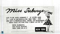 Image of Miss Subways