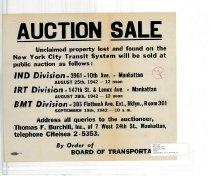Image of Auction Sale