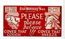 Image of Subway Sun: Please Please Pul-eeze
