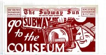 Image of Subway Sun: Go Subway to the Coliseum