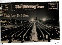 Image of Subway Sun: While New York Sleeps