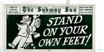 Image of Subway Sun: Stand on your own Feet!