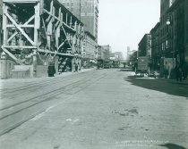 Image of 7th Avenue Line North from 26th Street, March 4, 1915.