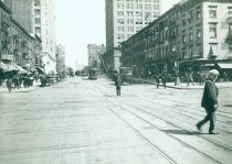 Image of Seventh Avenue Line at W. 23rd Street, 1914.