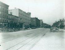Image of Lenox Avenue Line at 125th Street, April 22, 1910.