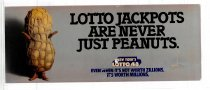 Image of Lotto Jackpots are never just Peanuts