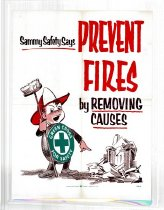 Image of Sammy Safety Say Prevent Fires