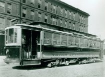 Image of 3rd Avenue Railway Car  #373, no date.