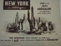 Image of Gustav Rehberger Collection, Anniversary of Greater New York City, 1948.