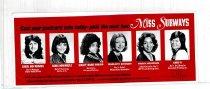 Image of Miss Subway Car Card, 1974