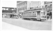 Image of Car on Williamsbridge Line at Tremont and 3rd Aves. Terminus, March 1933.