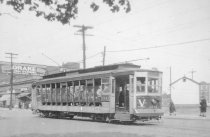 Image of Car #1141 on Williamsbridge Line, Gun Hill Rd., 1947.