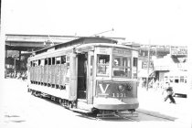Image of Car #1131 on Williamsbridge Line at West Farm Sq., no date.