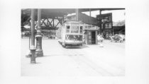 Image of Car #1127 on Williamsbridge Line, June 1943.
